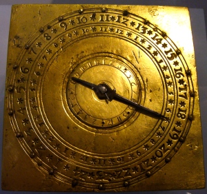 German table alarm clock 1500