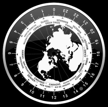 World clock Dashboard widget | 24hourtime info