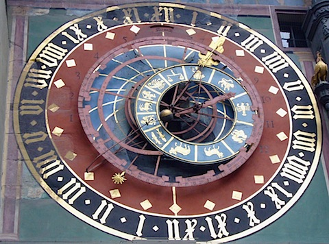 astronomical clock in Bern