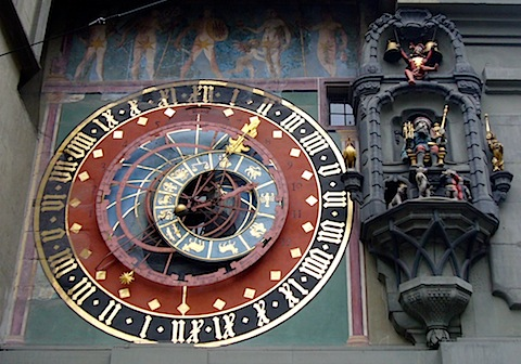 astronomical clock in bern, switzerland