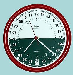 Seldec Marine clock