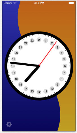 clock24 for ios