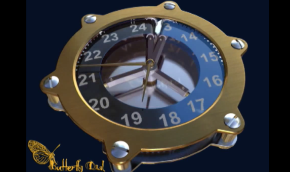 butterfly dial