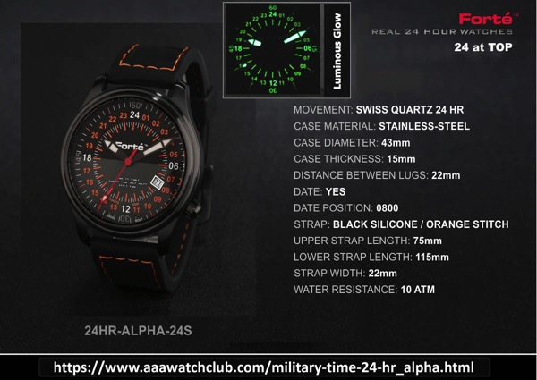 24 hour alpha24s model 1200